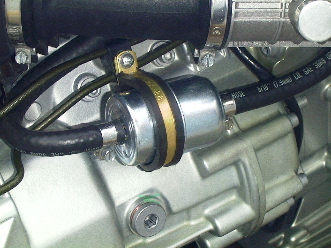 External Fuel Filter Modification R1100