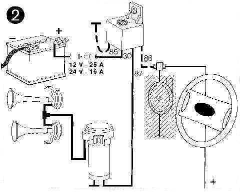 a Air Horn Wiring Diagram | Wiring Diagram  Pin Horn Relay Wiring Diagram on